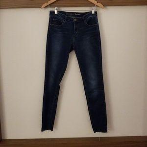 "Articles of Society ""Sarah"" Cut Hem Skinny jeans"